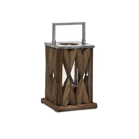 IMAX Worldwide Home - Santiago Small Wooden Lantern - 56381
