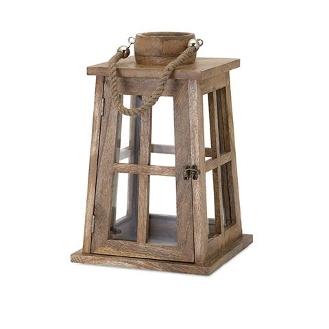 IMAX Worldwide Home - Maddie Wood Lantern - 71805