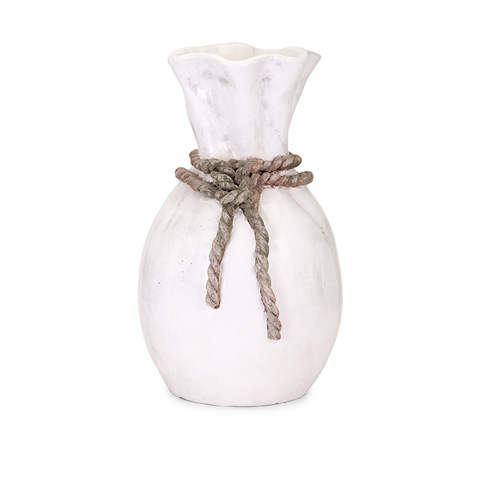 IMAX Worldwide Home - Callum Large Rope Vase - 76049