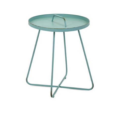 IMAX Worldwide Home - Reiley Teal Handle Table - 83630