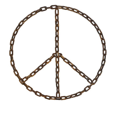 IMAX Worldwide Home - Chain of Peace Wall Decor - 84451