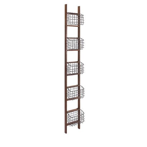 IMAX Worldwide Home - Carlow Wood Ladder Shelf - 84554