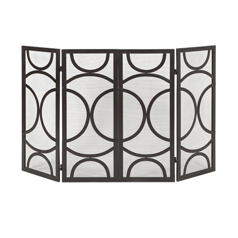 IMAX Worldwide Home - Winnoa Fireplace Screen - 85455