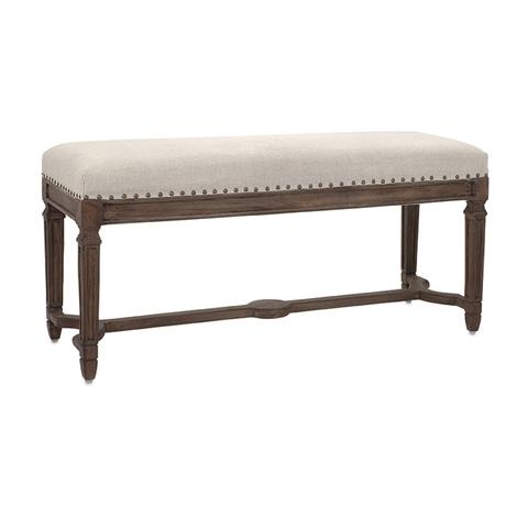 IMAX Worldwide Home - Grayson Upholstered Bench - 86143