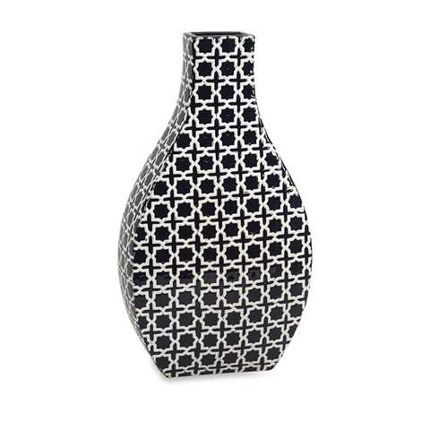 IMAX Worldwide Home - Layla Large Pattern Vase - 87542