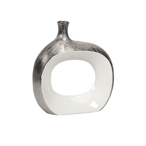IMAX Worldwide Home - Riley Small Metallic Vase - 87590