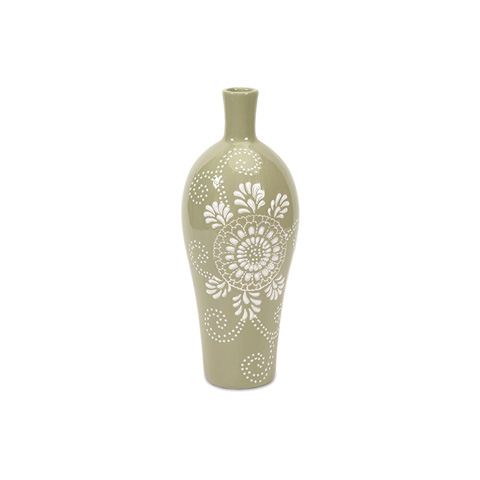 IMAX Worldwide Home - Kayla Small Pattern Vase - 87598