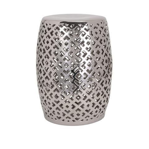 IMAX Worldwide Home - Lexor Ceramic Stool - 87824