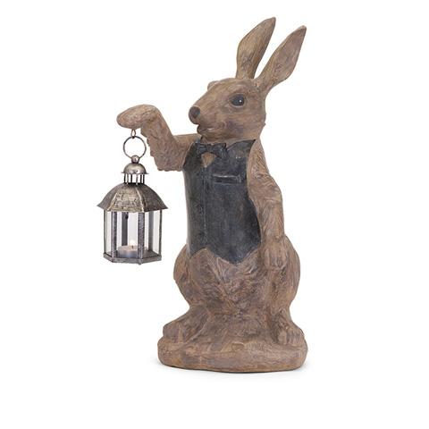 IMAX Worldwide Home - Mr. Rabbit Candle Lantern - 87861