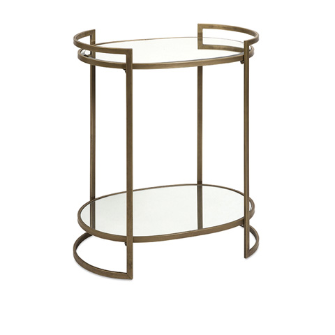 IMAX Worldwide Home - Ancona Mirror Accent Table - 88435