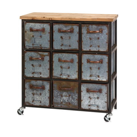 Image of Holloway 9-Drawer Cabinet