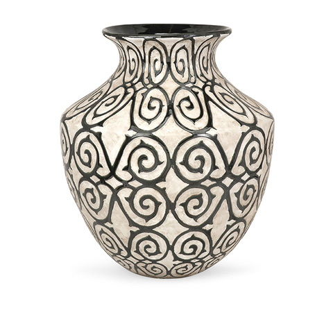 IMAX Worldwide Home - Benigna Wide Oversized Floor Vase - 89680