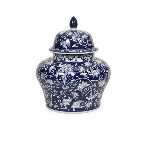 IMAX Worldwide Home - Tollmache Small Lidded Vase - 89837