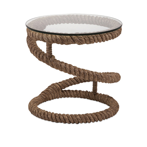 IMAX Worldwide Home - Bedford Jute Rope Accent Table - 89916