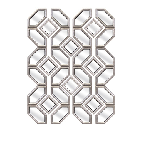 Image of Prestin Wall Mirrors - Set of Twelve
