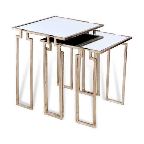 Image of Stinson Nesting Tables in Silver