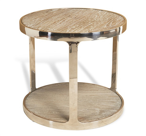 Interlude Home - Soto Round Side Table - 129097