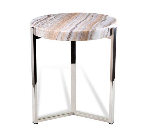 Interlude Home - Cascades Onyx Side Table - 158068