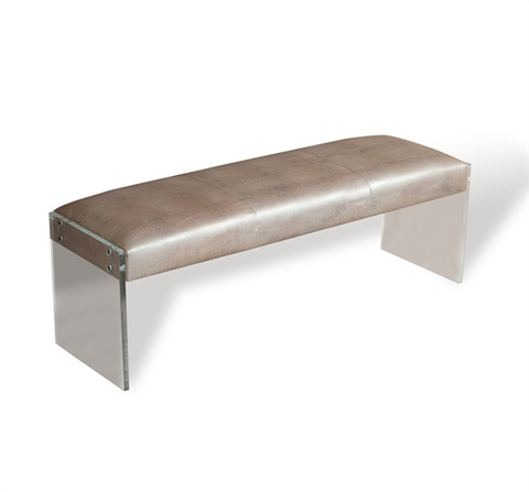 Interlude Home - Nori Lizard Bench - 175087