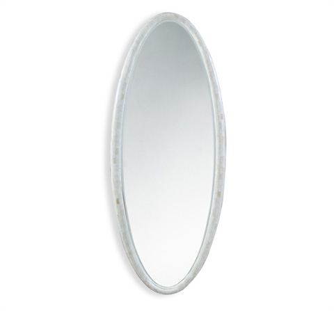 Interlude Home - Olivia Oval Mirror - 325050