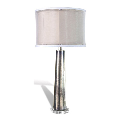 Image of Silver Rain Glass Lamp