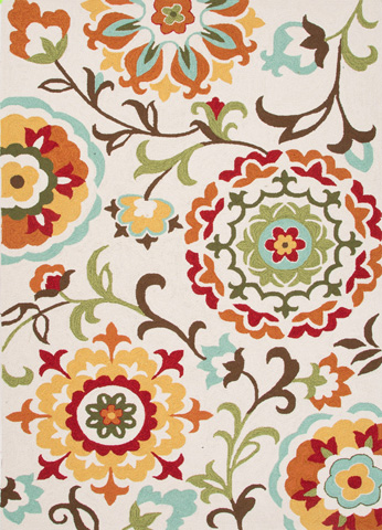 Jaipur Rugs - Blossom Indoor/Outdoor 8x10 Rug - BSM01