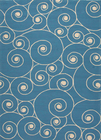 Jaipur Rugs - Coastal Lagoon Indoor/Outdoor 8x10 Rug - COL26
