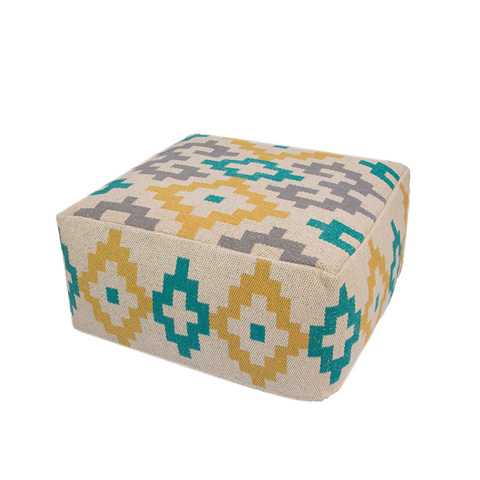 Jaipur Rugs - Traditions Made Pouf - MNP20