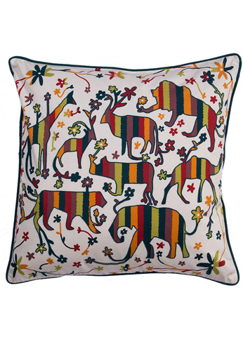Jaipur Rugs - National Geographic Throw Pillow - NGP15