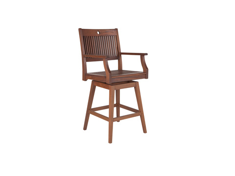 Jensen Leisure Furniture - Opal Swivel Hi Dining Chair - 6284A