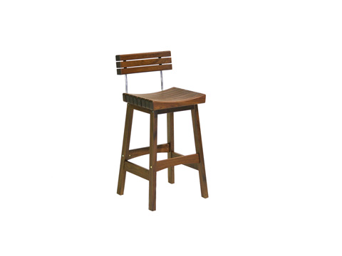 Image of Sunset Bar Stool with Back