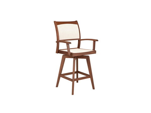 Image of Topaz Swivel Hi Dining Chair