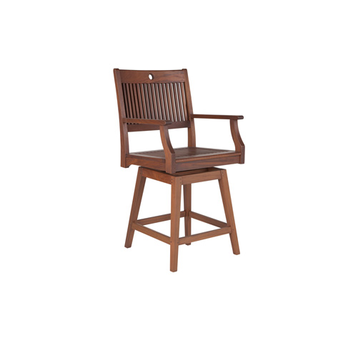 Image of Opal Swivel Counter Height Dining Chair