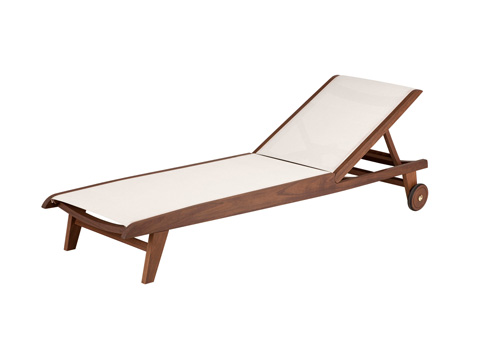 Image of Topaz Natural Sling Chaise