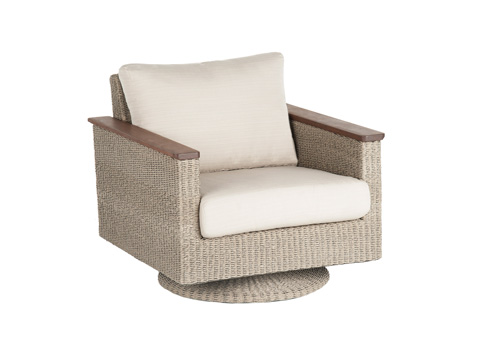 Image of Coral Swivel Rocker