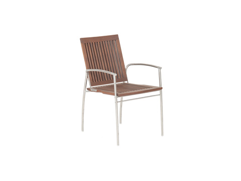Jensen Leisure Furniture - Kaffe Stacking Chair - 8200