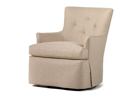 Jessica Charles - Beverly Swivel Rocker - 143-SR