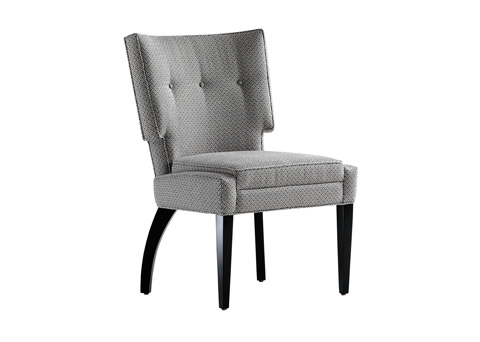 Jessica Charles - Jordan Tufted Dining Chair - 1959-T
