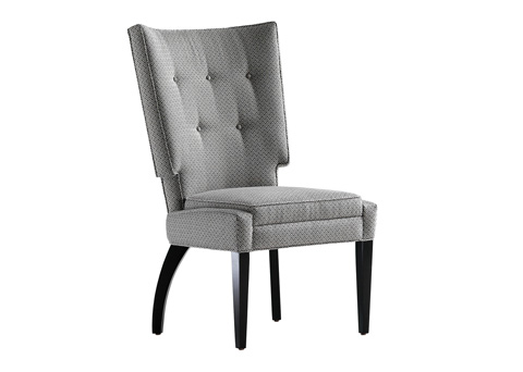 Jessica Charles - Jordan Tufted Dining Chair - 1960-T