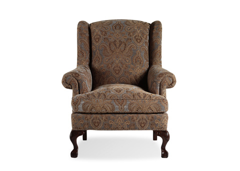 Jessica Charles - Croft Ball and Claw Wing Chair - 609