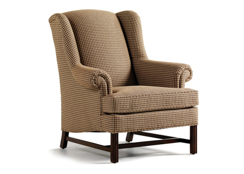 Jessica Charles - Alexander Tight Back Wing Chair - 631