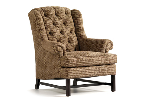 Jessica Charles - Alexander Tufted Wing Chair - 631T