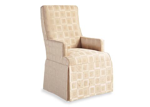 Jessica Charles - Lahaye Skirted Dining Arm Chair - 946