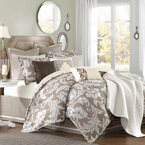 JLA Home - Hampton Hill Bellville Bed Linen Package - JLA10-383