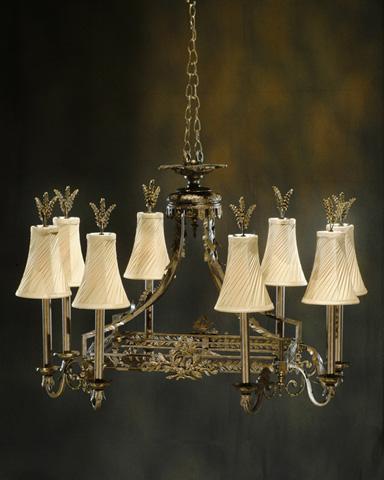 John Richard Collection - Eight Light Chandelier - AJC-8013