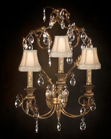 Three Light Sconce