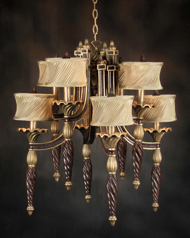 John Richard Collection - Eight Light Chandelier - AJC-8321
