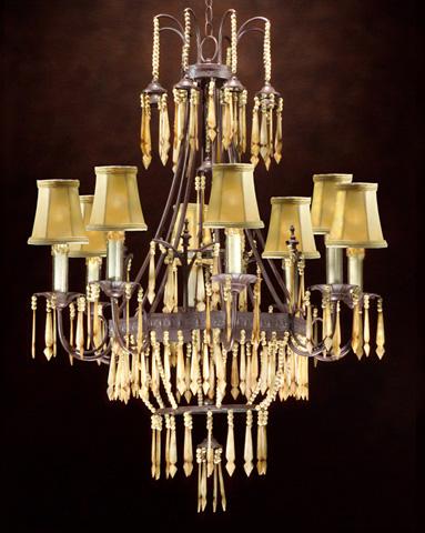 John Richard Collection - Eight Light Chandelier - AJC-8335