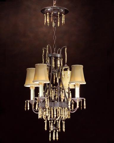 John Richard Collection - Four Light Chandelier - AJC-8336