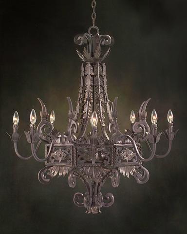 John Richard Collection - Eight Light Chandelier - AJC-8363